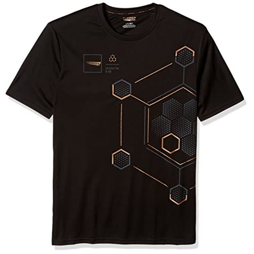 Cheap Copper Fit Men's Big and Tall Short Sleeve Graphic T-Shirt, Onyx, 2XL