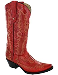 Corral Womens Picasso Full Stitch Western Boots