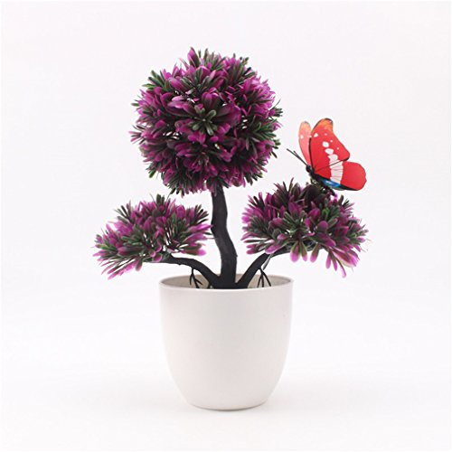 Outdoor Lighted Potted Tree - 6