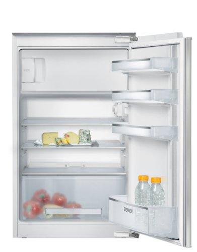 Siemens iQ100 KI18LV60 Einbau-Kühlschrank / A++ / Kühlteil: 112 L / Gefrierteil: 17 L / SafetyGlass / Flachschanier / FreshSense