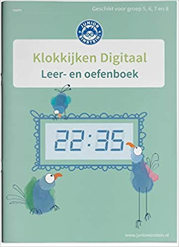 Betere Amazon.fr - Klokkijken Digitale klok Leer- en oefenboek (2 CM-97