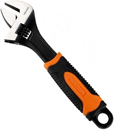 Holdon HN00015 6//150mm Adjustable Wrench with Soft Grip Handle