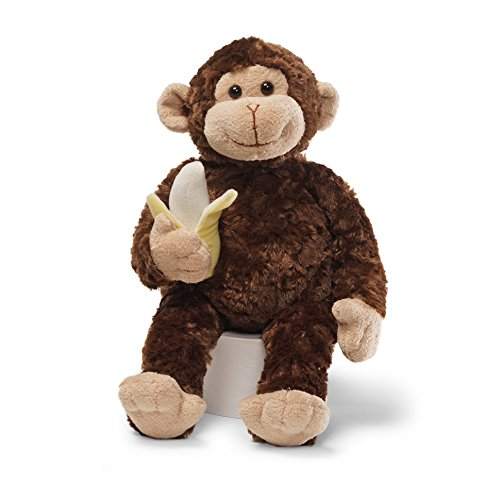 Gund Jungle - GUND Mambo Monkey Stuffed Animal Plush, Brown, 14
