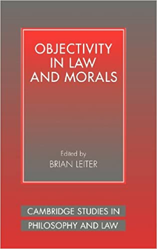 amazon com objectivity in law and morals cambridge studies in