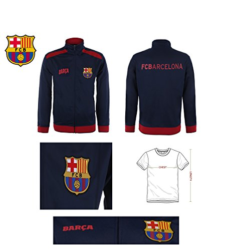 Fc-Barcelona-Jacket-Track-Soccer-Adult-Sizes-Soccer-Football-Official-Merchandise