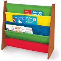 Tot Tutors Book Rack, Dark Pine