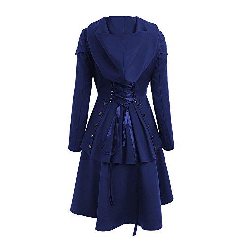 Chaqueta para Cobalto CharMma Abrigo Azul Mujer P50T4xwYnq
