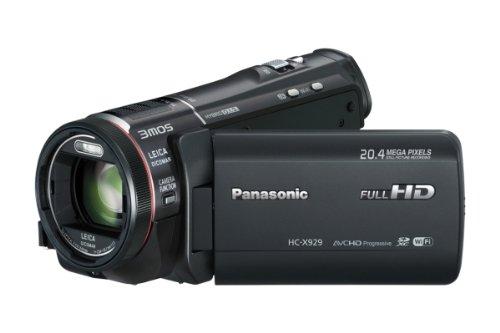 Panasonic HC-X929 Full HD Camcorder (3MOS BSI Sensor, LEICA DICOMAR Objektiv F1.5 mit 29,8 mm Weitwinkel, WiFi, opt. Bildstabilisato) schwarz