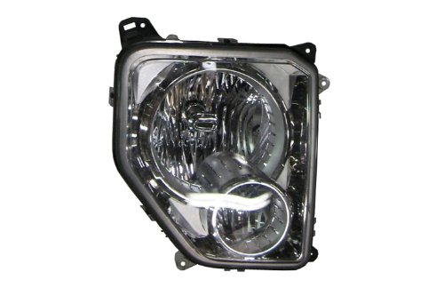 TYC 20-6973-00-1 Jeep Liberty Right Replacement Head Lamp