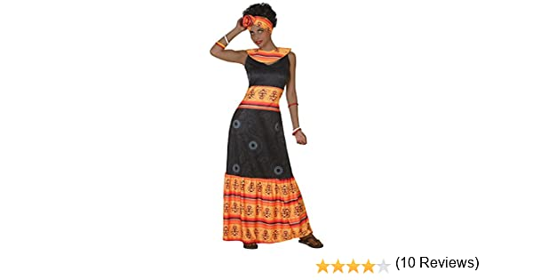Atosa-38893 Disfraz Africana, Color Negro, XS-S (38893): Amazon.es ...