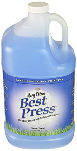 Mary Ellen Products Best Press Refills 1 Gallon-Linen Fresh