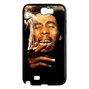 D-PAFD Diy Phone Case Bob Marley Pattern Hard Case For Samsung Galaxy Note 2 N7100