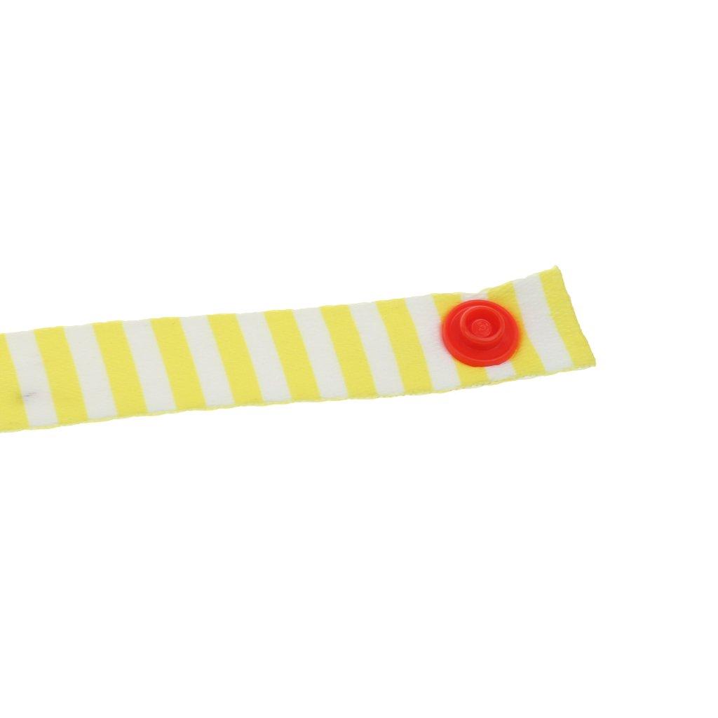 Sharplace 3 St/ück Spazierg/änger Strap Anti Drop Spielzeug Befestigung Schnuller Clips Hanger