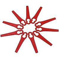 MLXG 120 stuks voor Florabest LIDL FRTA 20 A1 Lidl IAN 282232 vervangende messen van kunststof voor Florabest Grass…