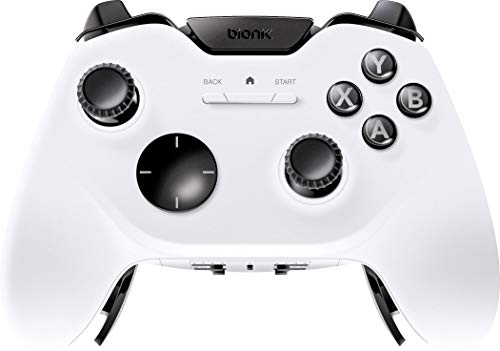 Bionik Falcon - Advanced Wireless Gaming Controller with Programmable Buttons and Trigger Lock System - Designed for Windows PC, Steam, VR, Android - Dual Connectivity 2.4GHz USB Dongle and Bluetooth ()