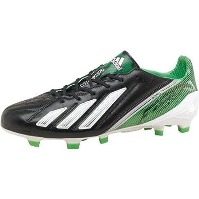 official photos dc813 a701e Mens adidas Adizero F50 TRX FG LEA Football Boots Black White Green Guys  Gents