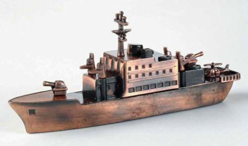 Navy Destroyer Ship Die Cast Metal Collectible Pencil Sharpener