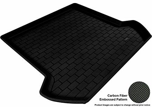 3D MAXpider Cargo Custom Fit All-Weather Floor Mat for Select Volvo XC90 Models - Kagu Rubber (Black) (Gta 3 Shirt)