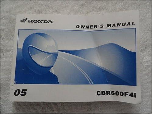 C31db3 06 honda cbr600f4i owners manual pdf | wiring resources.