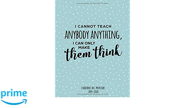 Cuaderno Del Profesor 2019 - 2020: Cuaderno del Profesor y ...
