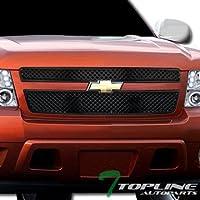 Topline Autopart Black Mesh Front Hood Bumper Grill...
