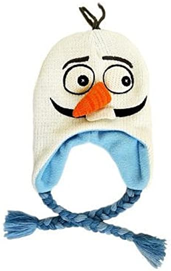 Childrens Novelty Olaf Snowman Carrot Nose Christmas Accessory