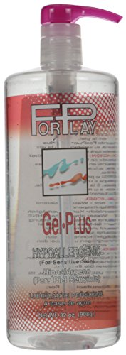 Forplay Gel-Plus-Hypoallergenic Bottle (32 oz Pump Bottle)