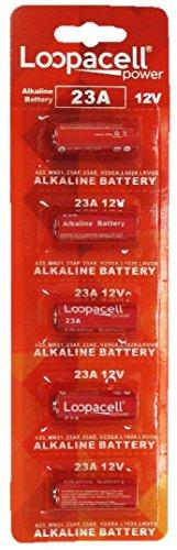 23A 12V Alkaline Battery (5 Pack)