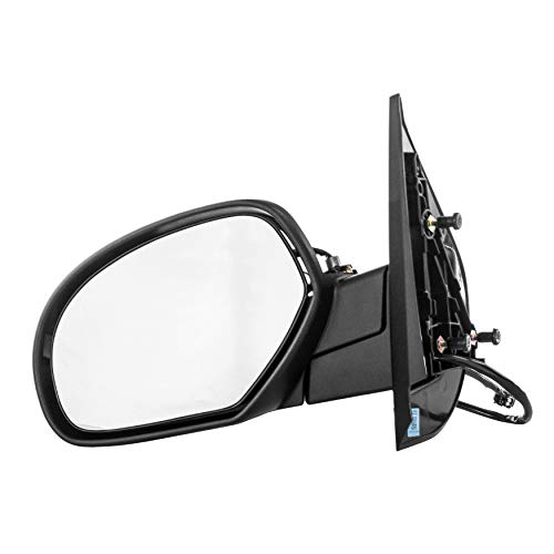 (Dependable Direct Left Side Heated Folding Power Operated Mirror for 07-14 Chevy Suburban - Parts Link #: GM1320336)