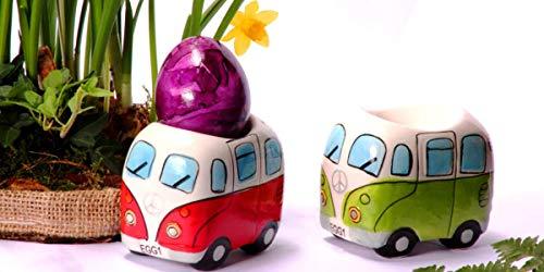 41MhpYlZK6L Camper Bus 4-TLG. Eierbecherset aus Keramik in 4