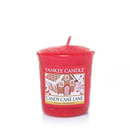 Yankee Candle Classic Housewarmer Small, Candy Cane Lane, Scented Candle, Room Scent in Glass / Jar, 1308386E Yankee Candle Company