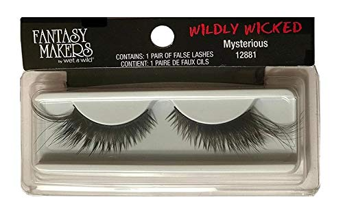 Fantasy Makers Wildly Wicked Thick Black Long False Eyelashes - Mysterious (3 Count) -