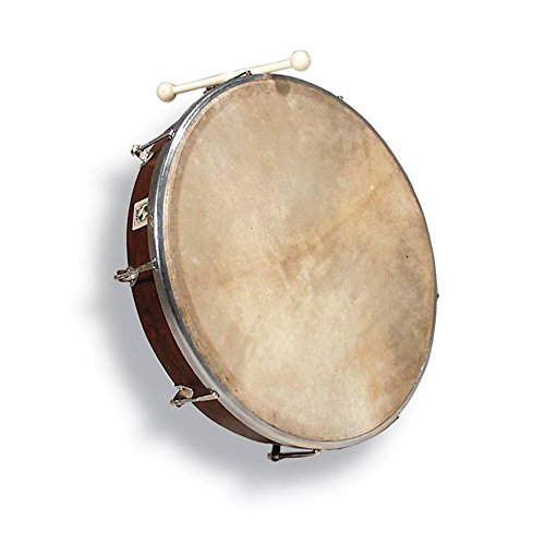 LP World Beat 18 inch Tunable Bodhran w/ Case & Tipper by LP
