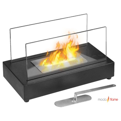 Cheap GF301801 Vigo Table Top Ethanol Fireplace - Black