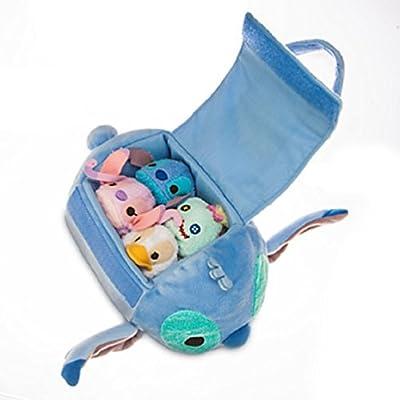 Stitch Tsum Tsum Plush Set Mini Bag Stitch, Angel, Ugly Duckling, and Scrump for Sale