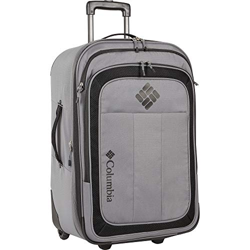 Columbia Carry-on Rolling Luggage, Boulder Black
