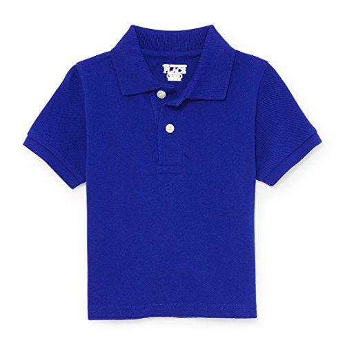 The Children's Place Baby Boys Short SleevePolo, Edge Blue 2429, 4T - Edge Shorts