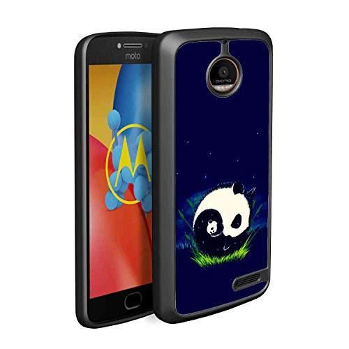 (Panda Yin Yang TPU Case Fit Moto E4 (2017) 5-Inch)