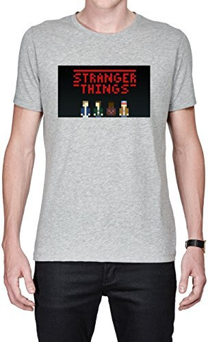 Price comparison product image Stranger Things Tv 4k Pixel Fan Art Men's T-shirt