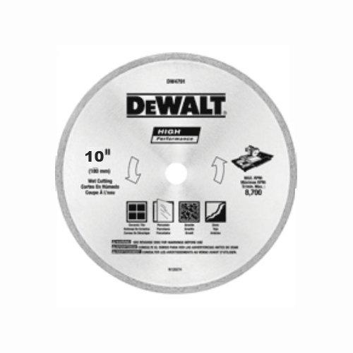 DEWALT DW4792 10 Inch Tile Blade