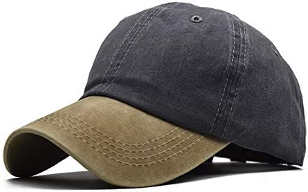 NAGRI Men Women Washed Cotton Adjustable Sport Baseball Cap Lightweight Breathable Outdoor Sun Cap Trucker Snapback Cap Dad Hat