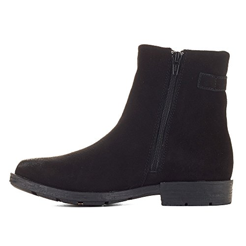 Suede Yazoo Cougar Shoes Boots Black Women's qXE8wEnZ