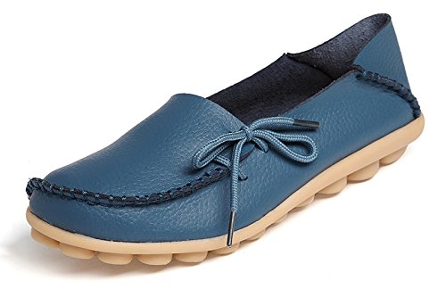 Walking VenusCelia Office Comfort Blue Flat Women's Loafer 77qEwxp6