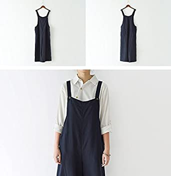 M/&S/&W Womens Classic Casual Loose Funny Print Aprons