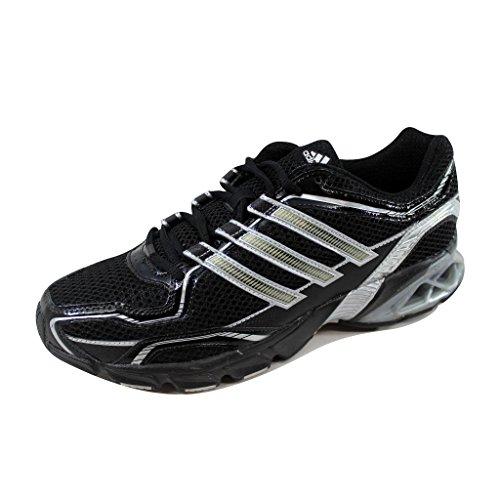 adidas Men's Galaxy Running Shoe,Black/Metallic Silver/Black,9.5 M US