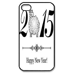 2015 happy new year For iphone 6 plus 5.5 case cover niy-hc327751