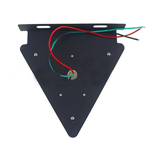 Hehemm universel Triangle davertissement arri/ère /étanche LED Signal lampe 24/V lot de 2