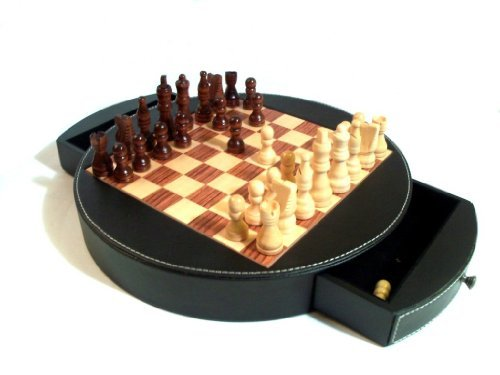 Buy bey berk wood and leather chess set