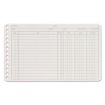 ABFARB58100 - Adams Ledger Binder Refill Sheets