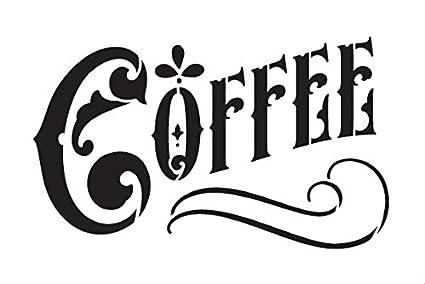 Coffee Stencil By StudioR12